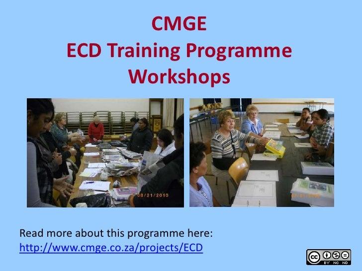 ECD Teacher Training 2011