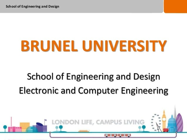 Applicant Day Course Talk - Electronic and Computer Engineering 2013