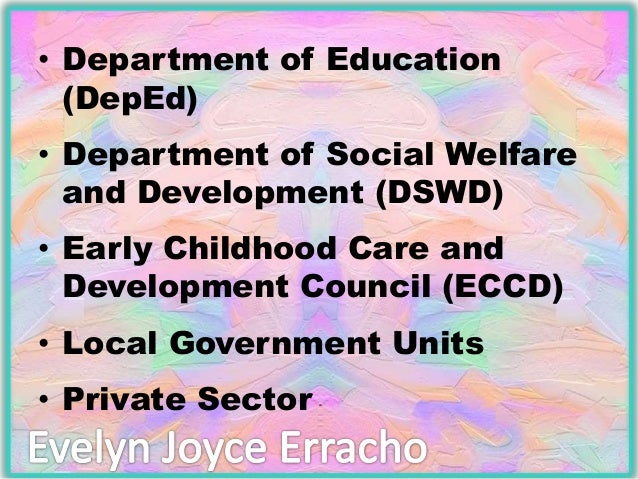thesis early childhood care education This study used the nichd early child care data set to investigate  characteristics of  appropriate belief systems and teacher education in early  childhood were  this thesis is part of the collection entitled: unt theses and.