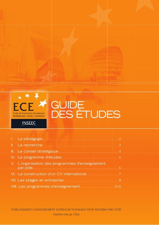 Ece guide etudes_2012
