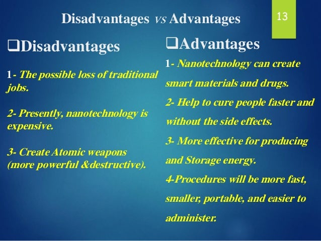 What are the advantages and disadvantages cancer chemotherapy