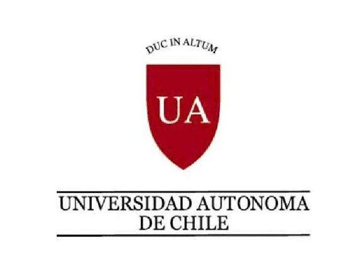 Universidad Autónoma   de Chile              2