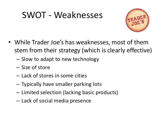 trader joe s case study Get insight into trader joe's innovative strategies and how it eliminated any real competition in the us grocery store business.