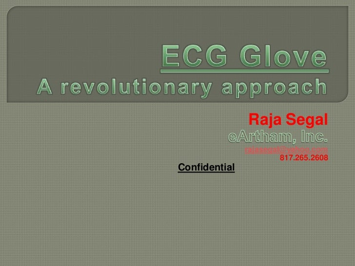 Raja Segal               rajasegal@yahoo.com                        817.265.2608Confidential