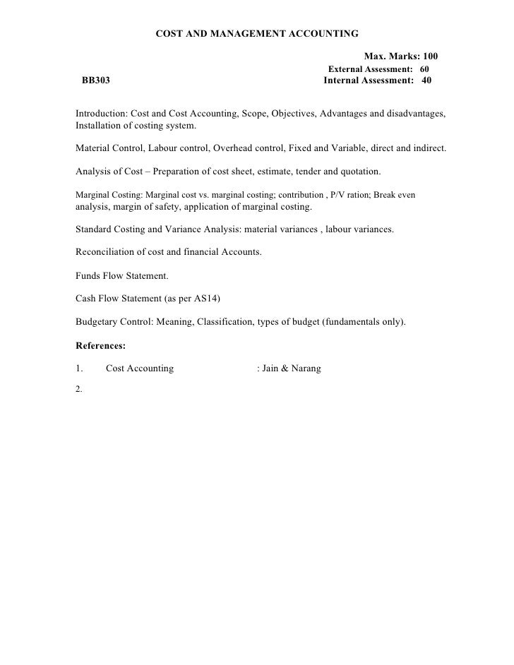 E:\Cheenu Pcte\Syllabus\Cost And Management Accounting