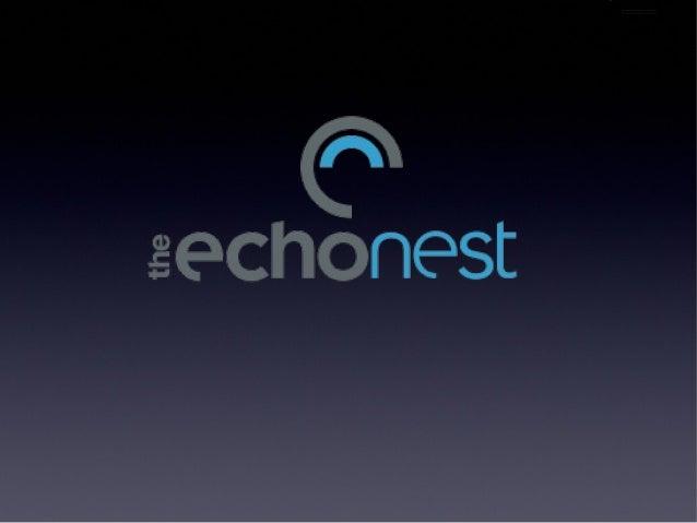 Echo nest-api-boston-2012