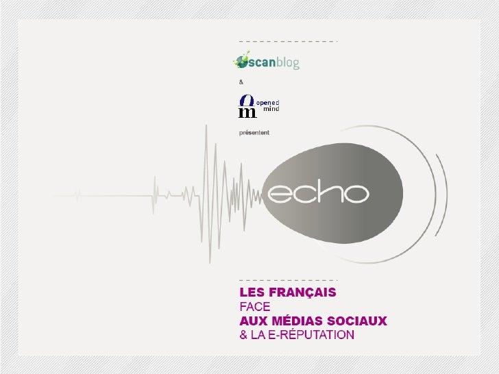 Barometre : les français et les médias sociaux