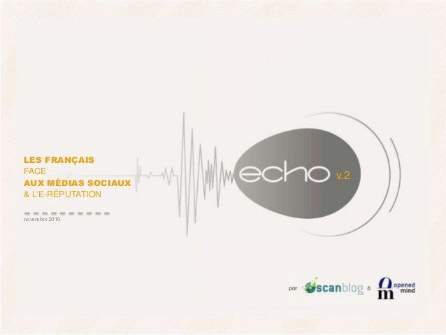 Scanblog : ECHO vague 2