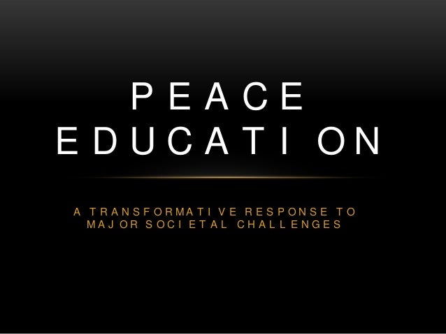 peace education Peace education curricula & resources a force more powerful a force more powerful is a book, a movie, and a website with resources for nonviolent action for.