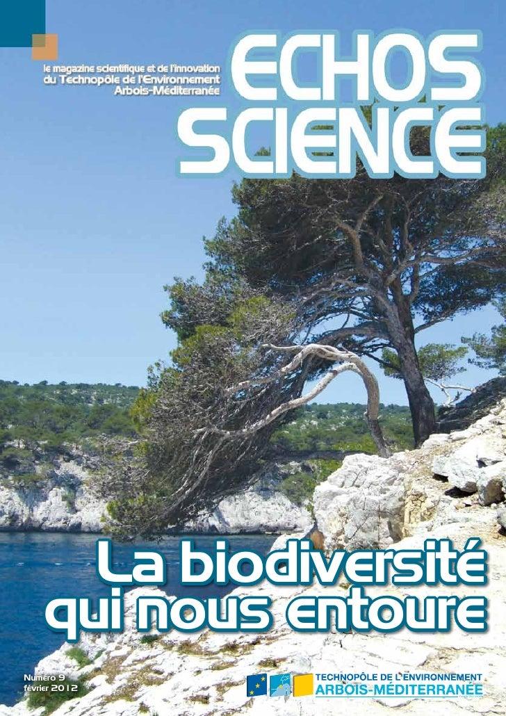 La biodiversité    qui nous entoureNuméro 9février 2012                                                Certifié ISO 14001 ...