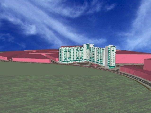 S.A.R.L E.C.I propose la réalisation d'un ensemble de logements collectifs inscrits dans le cadre du «programme LSP 2003...