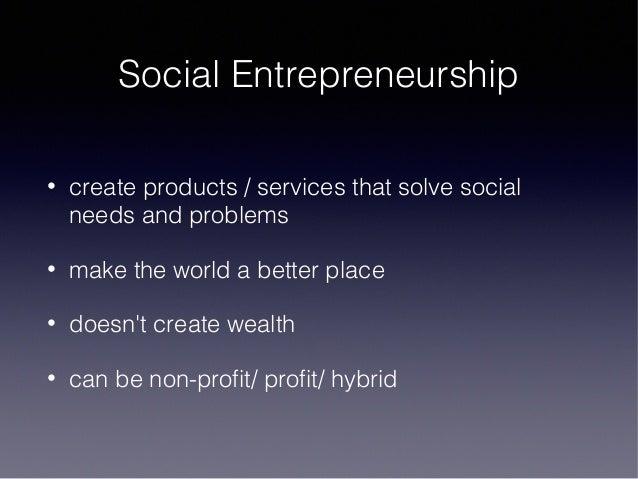 Social entrepreneurship business plan