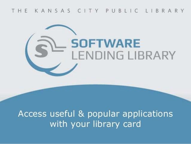 Software Lending Library