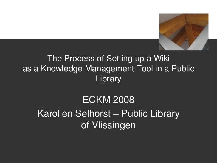 Eckm2008wikis