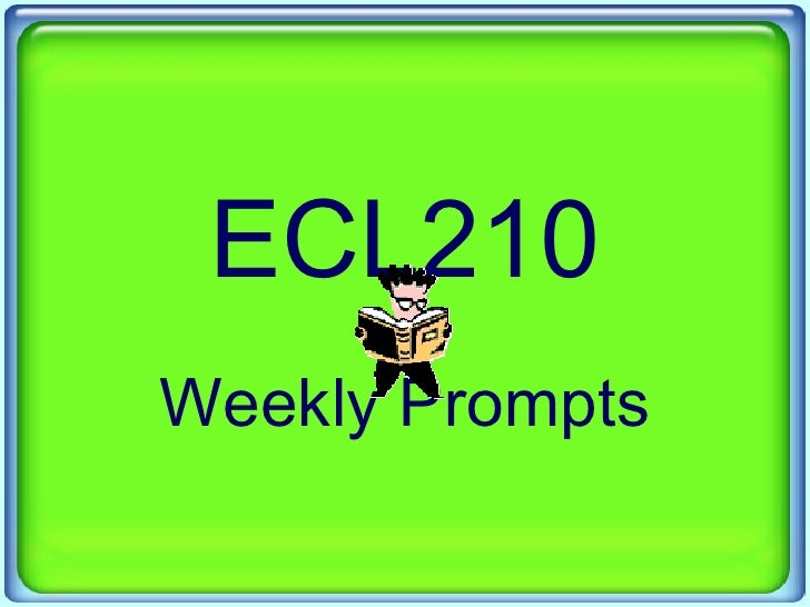 ECL210 Prompts