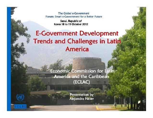 e-             The Global e-Government                 e-    Forum: Smart e-Government for a Better Future               S...