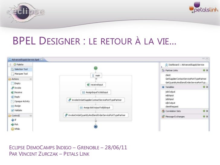 Eclipse demo-camps-indigo--grenoble--bpel-designer
