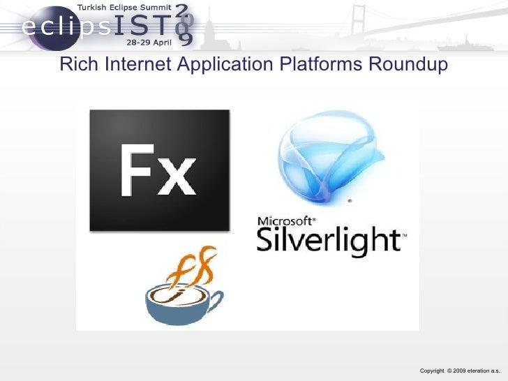 Rich Internet Application Platforms Roundup