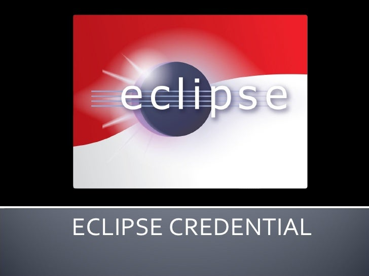 ECLIPSE CREDENTIAL