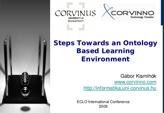 Steps towards on Ontology based Learning Environment