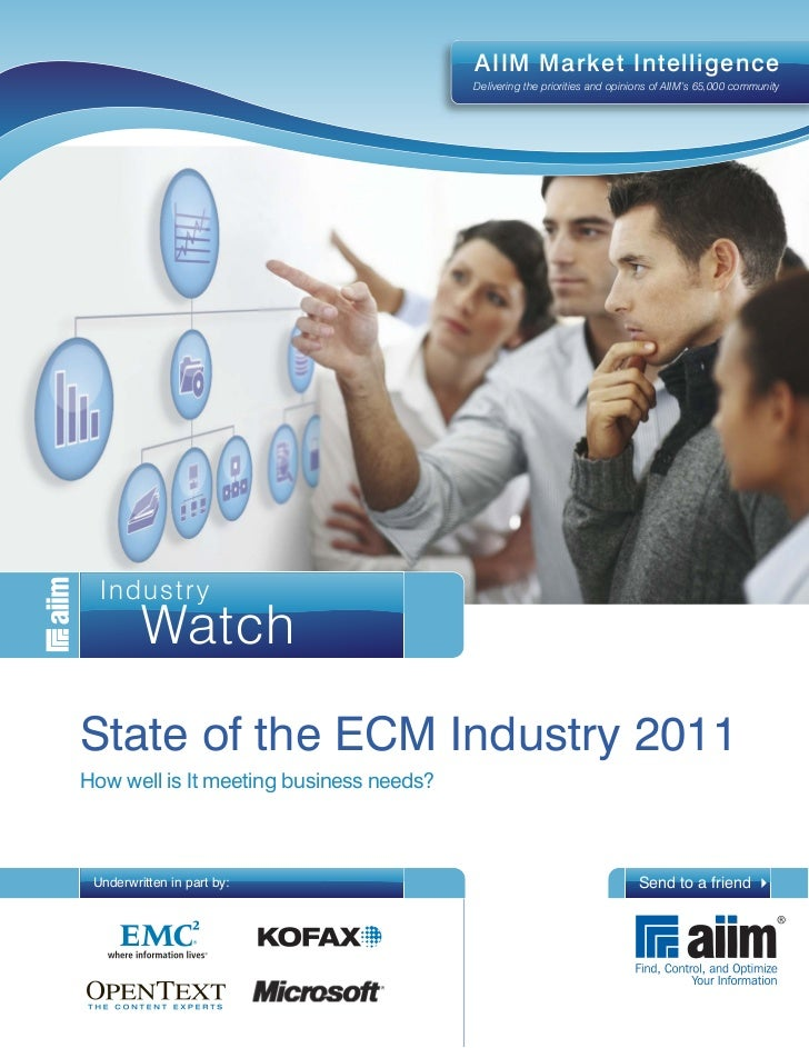 Ecm state-of-industry-2011