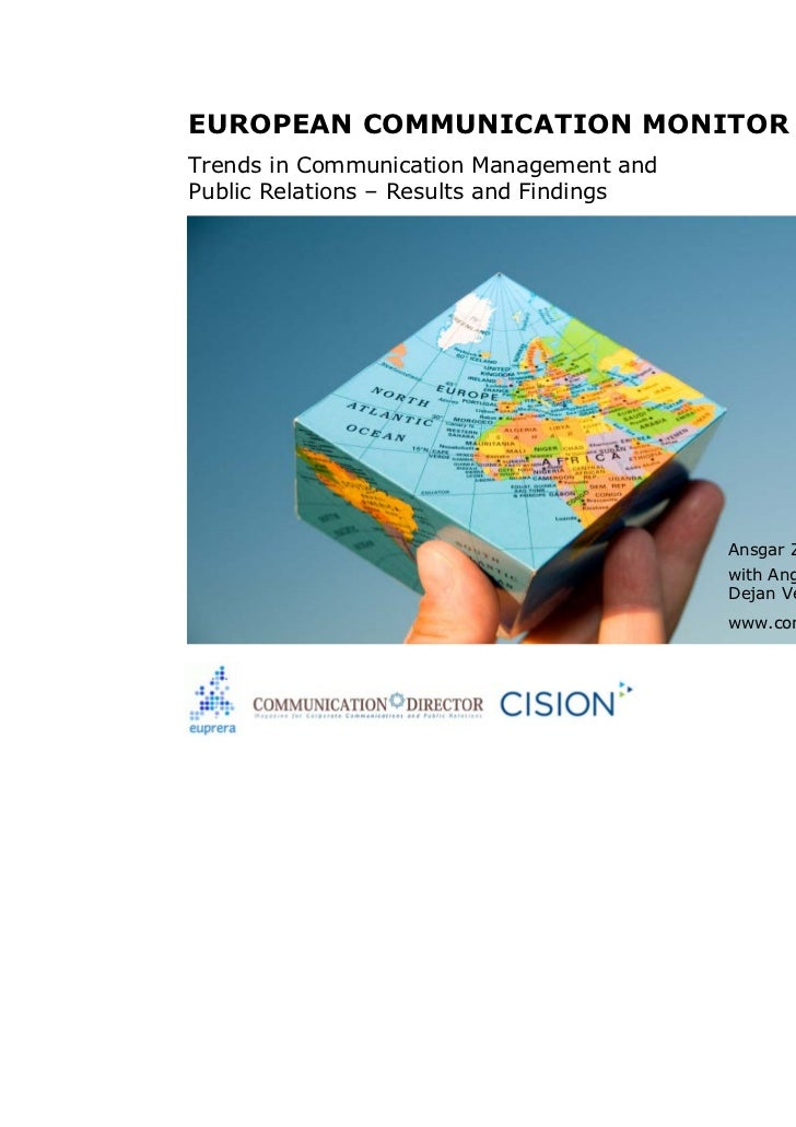 European Communication Monitor 2008 - ECM 2008 - Results
