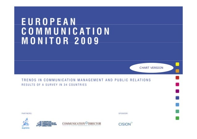 European Communication Monitor 2009 - ECM 2009 - Results