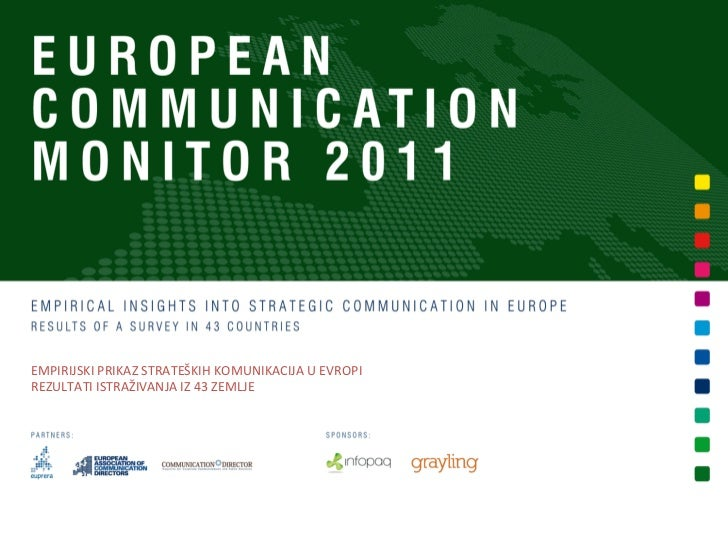 European Communication Monitor 2011