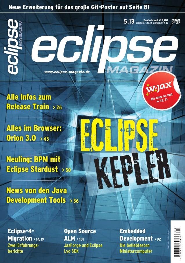 Deutschland € 9,80 Österreich € 10,80, Schweiz sFr 19,205.13 www.eclipse-magazin.de ©iStockfoto.com/Kngkyle2 www.software-...