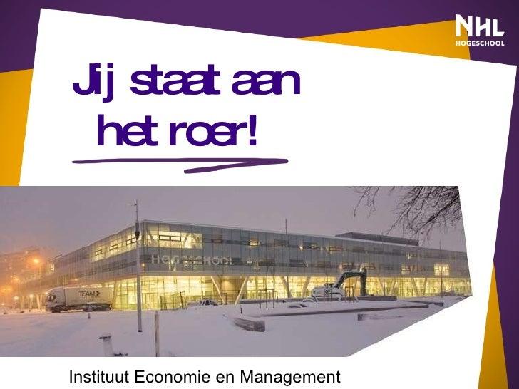 NHL Hogeschool - Instituut Economie en Management