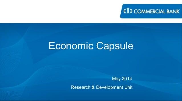 Economic Capsule - May 2014