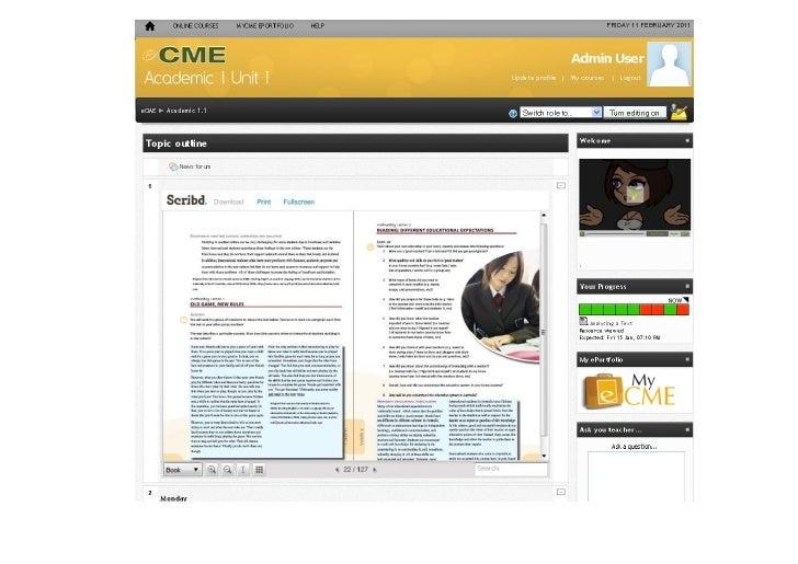 eCME Academic