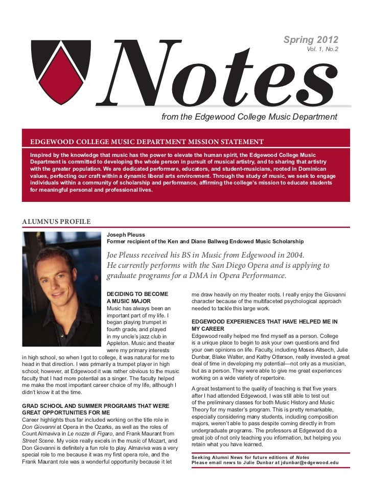 MUSIC FACULTY AND STAFF NEWS                                                                                              ...