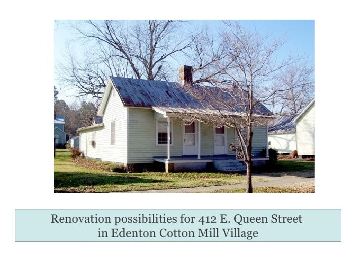 ECMV Renovation Possibilities