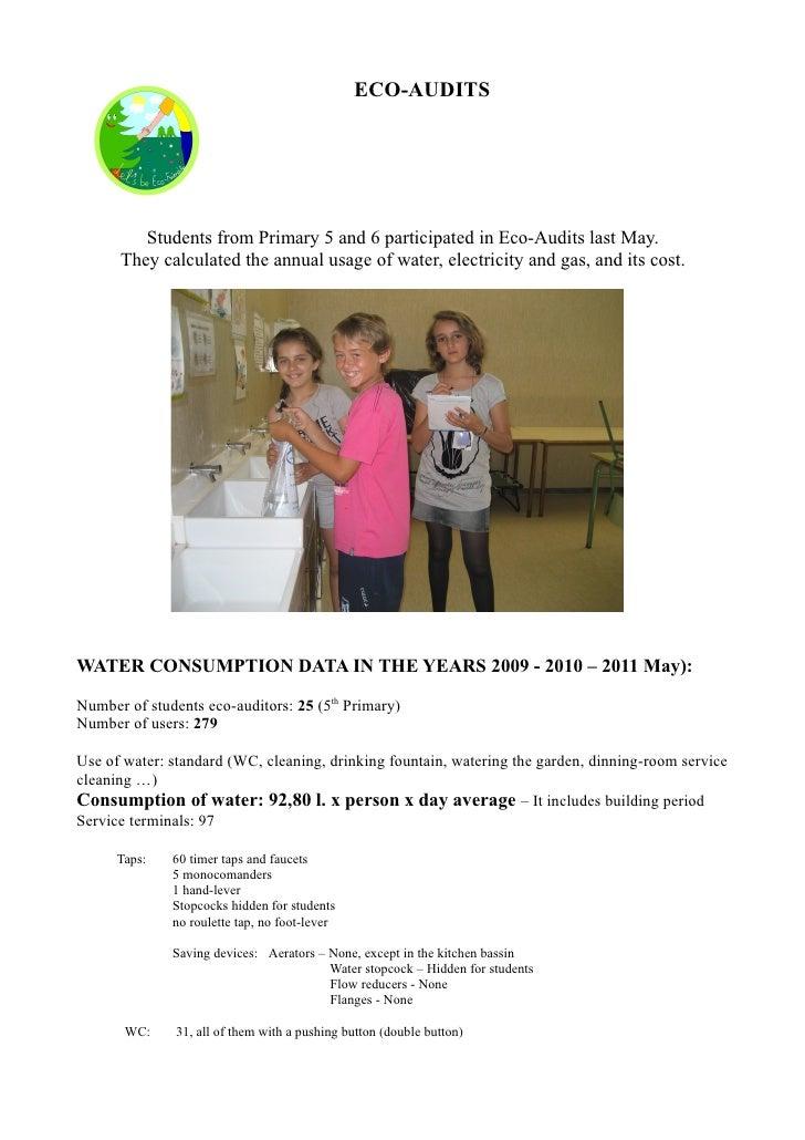 Eco-audit at Sant Bernat Calbó School