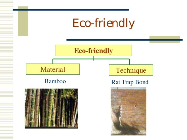 Eco Friendly Building Material