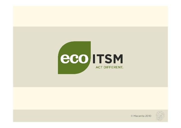 eco -ITSM Presentation .ppt