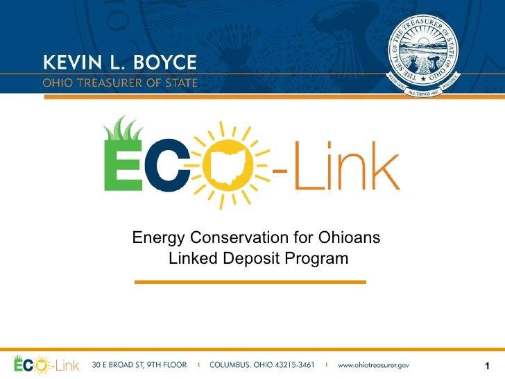 ECO-Link Ohio Program