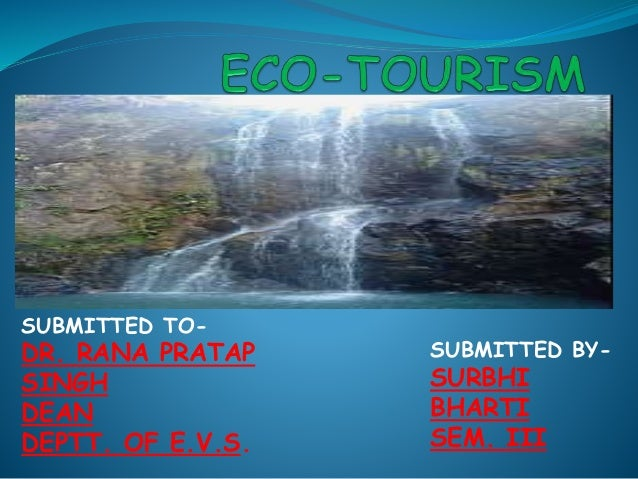 Ecotourism Economic Growth