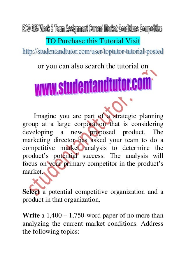 eco 365 week 1 article analysis Eco 365 week 1 individual article analysis research the university library and internet, and select a recent news article concerning trends in consumption patterns of a specific product, such as gasoline, oil, grain, or coffee.