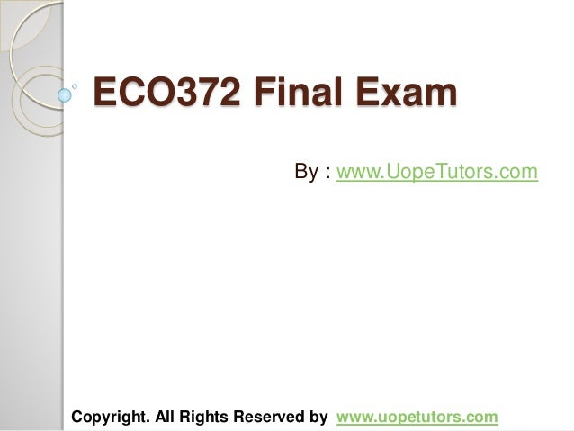 eco 561 week 4 business proposal paper