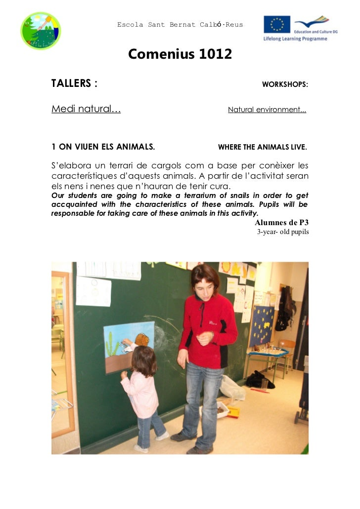 Eco-workshops/ Catalonia