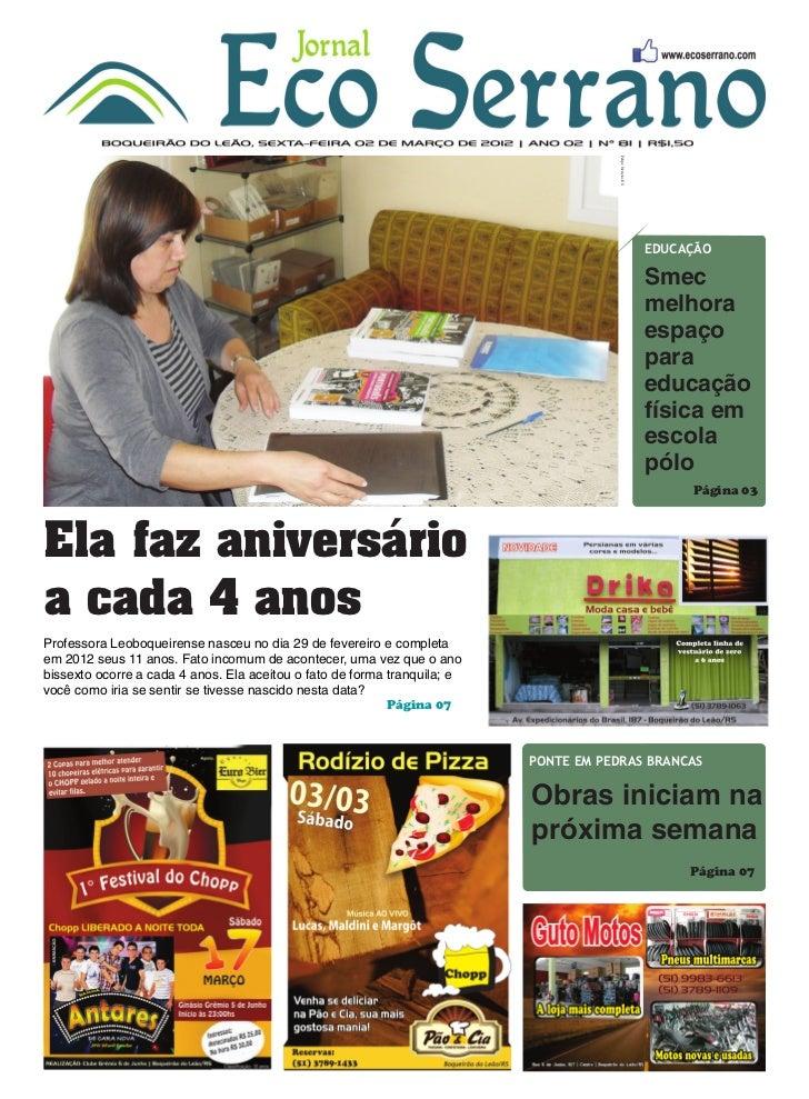 Edição 81 - 02/03/2012