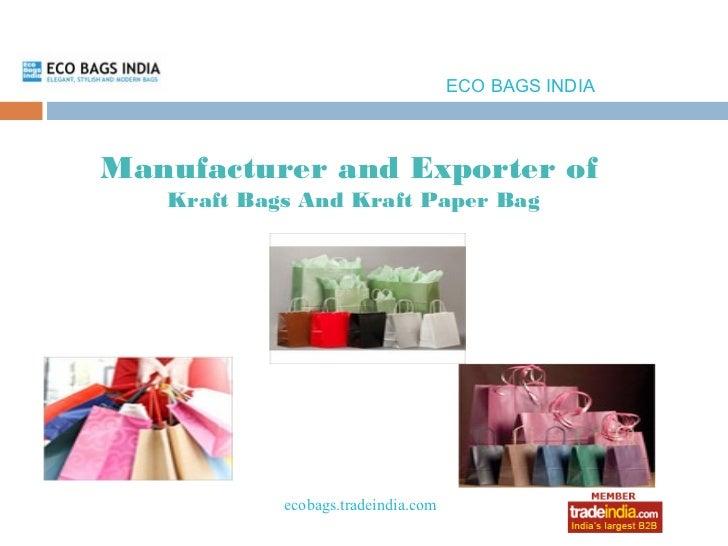 ECO BAGS INDIA