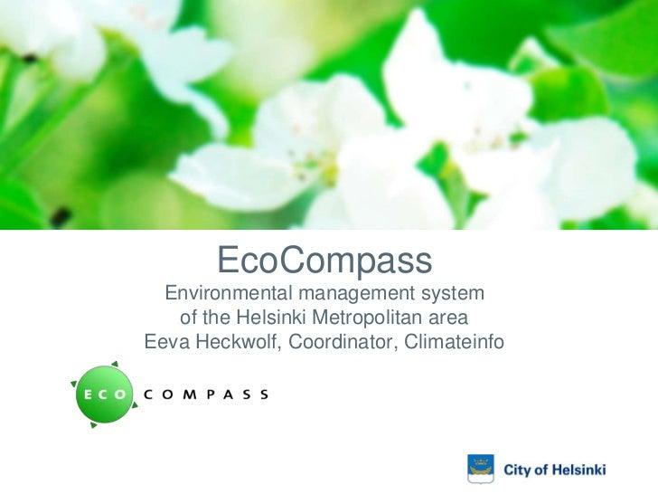 Ecocompass presentation