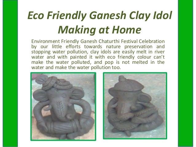 Eco Friendly Ganesh Clay Idol Making Work Shop in Ahmedabad, DIY Ganesh Idol