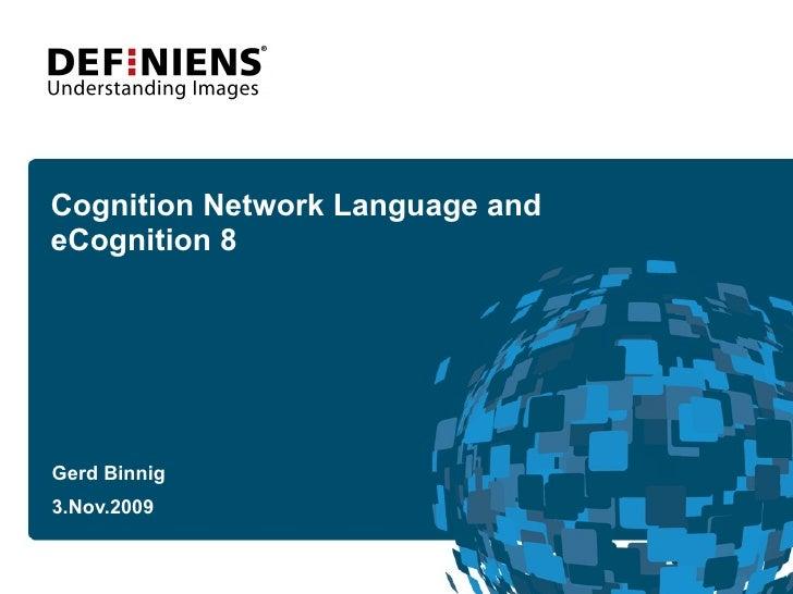 E Cognition User Summit2009 G Binnig Definiens