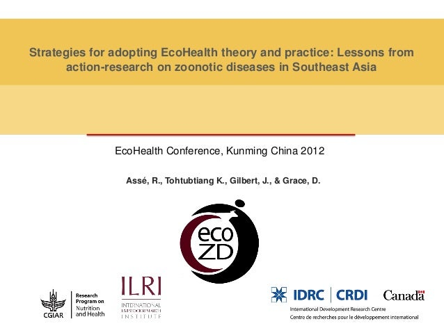 Strategies for adopting EcoHealth theory and practice: Lessons from       action-research on zoonotic diseases in Southeas...