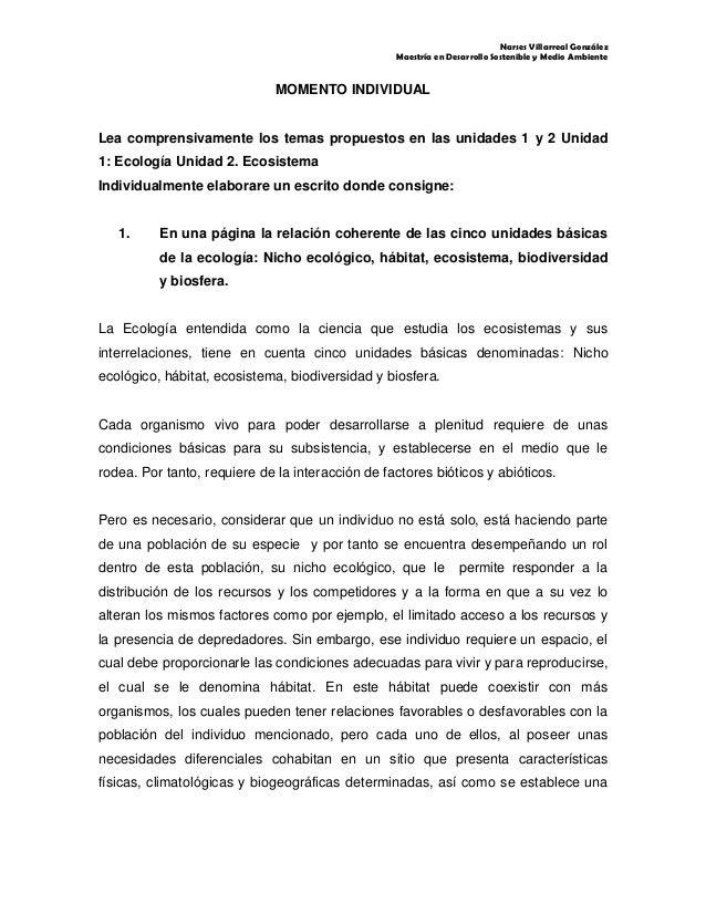 Narses Villarreal GonzálezMaestría en Desarrollo Sostenible y Medio AmbienteMOMENTO INDIVIDUALLea comprensivamente los tem...