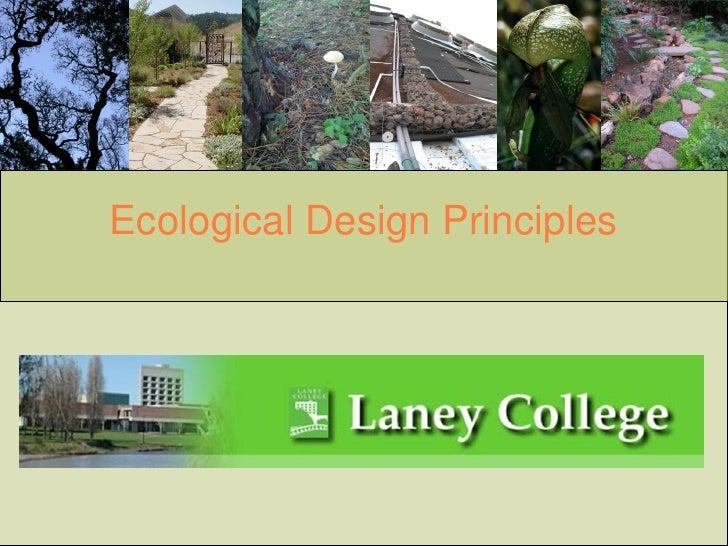 Ecological Design Principles